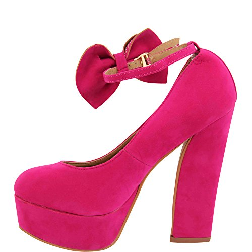 Unbekannt - Pantuflas de caña alta Mujer Rosa - rosa