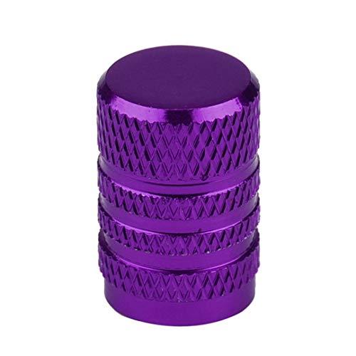 HEALTHLL New Accessories 4X Car Truck Bike Tire Wheel Rims Stem Air Valve Caps Tyre Cover Purple ()