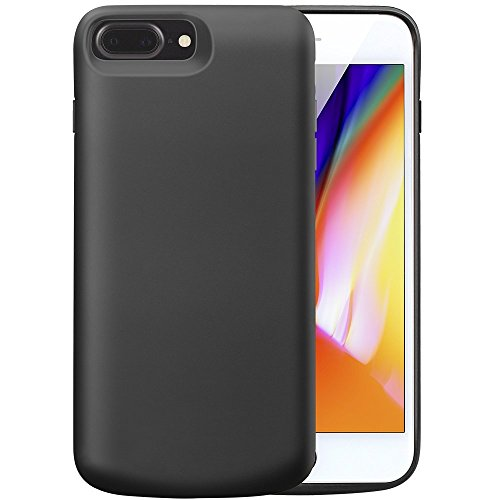 iPhone 8 Plus 7 Plus 6S Plus Battery claim V EWIGE 8000mAh mobile Charger claim Rechargeable Battery claim 55 inch Black Battery Charger Cases