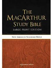 The NASB, MacArthur Study Bible, Large Print, Hardcover: Holy Bible, New American Standard Bible