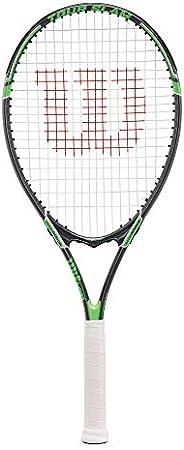Wilson Tour Slam Strung Tennis Racquet, 4 1/4-Inch, Black/Green