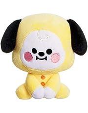 AURORA, 61377, BT21 officiële merchandise, Baby CHIMMY zitpop 5in, zacht speelgoed, geel