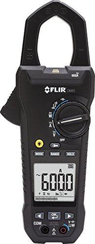 Power Clamp Meter 600A with VFD Filter - FLIR CM82