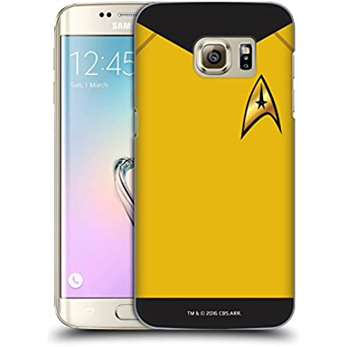 Official Star Trek Command Uniforms And Badges TOS Hard Back Case for Samsung Galaxy S7 edge Sales