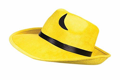 [Pop Art Yellow Hat Costume Accessory] (Men In Womens Costumes)