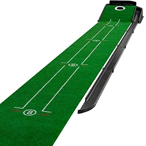 (Maxfli Indoor Golf Putting Green Practice - Automatic Ball Return - 9'' X 12')