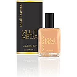 Scott Barnes Multi Media Liquid Foundation, Butterscotch, 1 fl. oz.