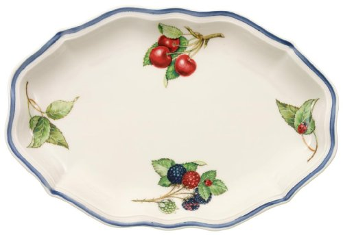 (Villeroy & Boch Cottage Pickle Dish/Gravy Stand)