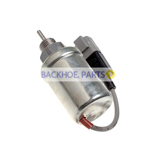 Stop Solenoid 185206450 185206420 185206192 185206451 185206452 for Perkins Engine 404D-22G 2306 Series ()