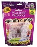 corn free vit c - YumEarth Organic Vitamin C Pops 8.5 oz (241 g) Pkg