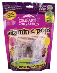YumEarth Organic Vitamin C Pops 8.5 oz (241 g) Pkg
