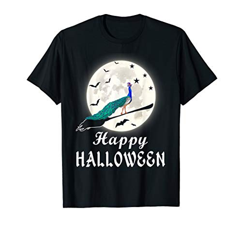 Male Peacock Halloween Costume (Happy Halloween Peacock Costume Shirt Gift For Peacock)