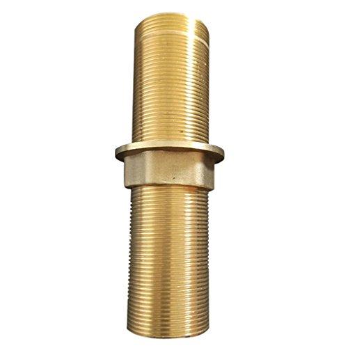 MonkeyJack Faucet Fittings Nipple Locknut Kit Deck Mount Basin Tap Single Hole 4 Sizes - 12cm - Single Shank Deck Mount