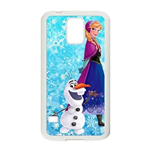 Frozen Snowman Olaf and Princess Anna Cell Phone Case for Samsung Galaxy S5