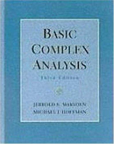 Basic Complex Analysis: 3rd (Third) edition