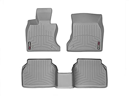 465221 FloorLiner, Front, Gray WeatherTech
