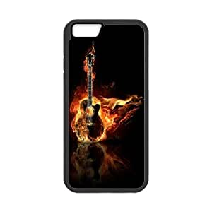 Guitar and music Pattern Hard Case Cover Back Skin Protector For For Iphone 6 Case 5.5 Inch color5 by mcsharks