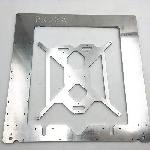 3D Printer – Prusa i3 Rework Aluminum Frame kit for DIY 3D printer RepRap Prusa i3 Aluminum Alloy Frame 6mm Thickness