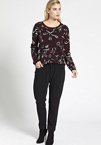 khujo Small Femme Rose Vieux Pull Longues Manches HgBH7rR
