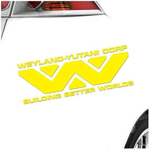 Hauptsachebeklebt Weyland Yutani Corporation Aufkleber Sticker 25 Farben Neon Matt Baumarkt