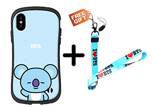 newest collection 40d2a 59739 BTS case BTS Phone Cases BTS iPhone case 6/6s,6 Plus,7,8,6s Plus,7 Plus,8  Plus,x with BTS Long Lanyard Neck Strap (KOYA, iPhone 6 / 6s)