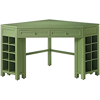 Charming Rhododendron Leaf Corner Craft Table