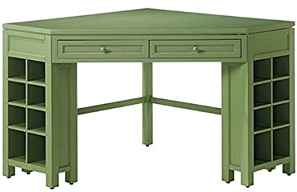 Attractive Rhododendron Leaf Corner Craft Table
