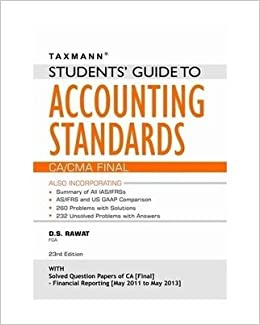 Ds Rawat Accounting Standards Book Pdf