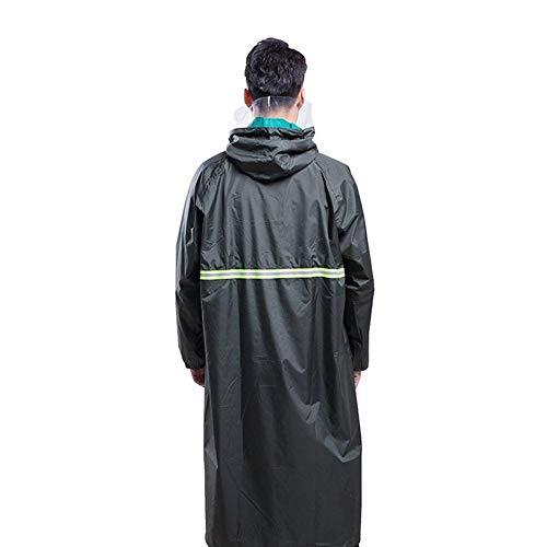 Con Darkgreen Oxford Fashion Ad Adatto Impermeabile Suit Long Women Abiti Alpinismo Doppio And Taglie Comode Mennen Campeggio Cappuccio Hx Rain Menntel B7RZcPqq0