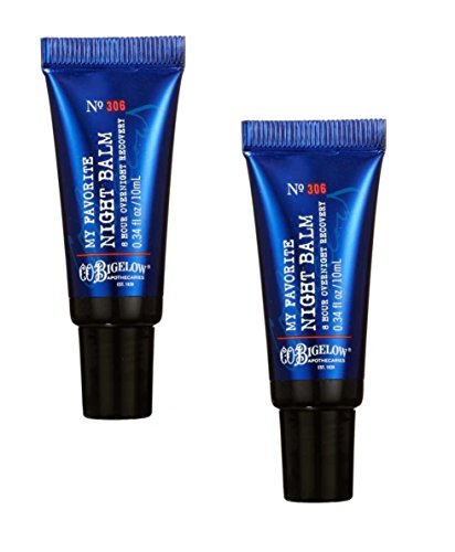 C.O. Bigelow 2 Pack My Favorite Night Balm Lip Treatment. 0.34 Oz