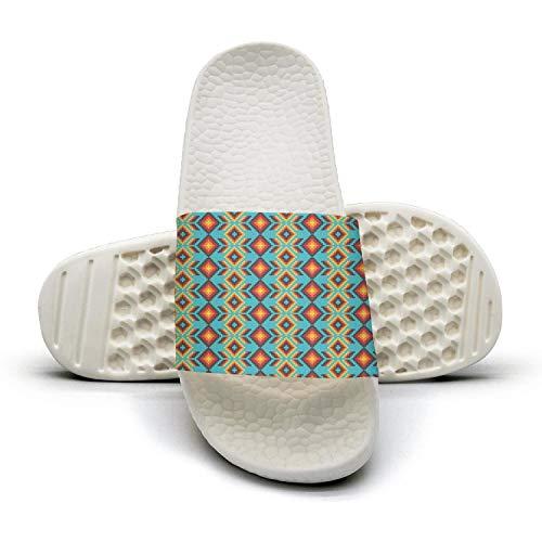 Outdoor Geometric Mexican Slides Huichol Huichol Geometric Flip Womens Flop Performance Fashionable Sandals Mexican Colorful Home 5gqrwIq1