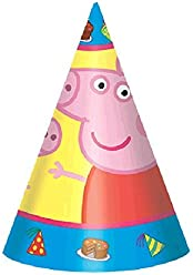 Paper Cone Hats | Peppa Pig Collection | Party Accessory