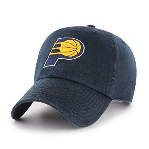 fan products of NBA Indiana Pacers OTS Challenger Adjustable Hat, Navy, One Size