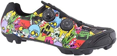 LUCK Zapatillas de Ciclismo Prueba Galaxy (38 EU, Marron): Amazon ...