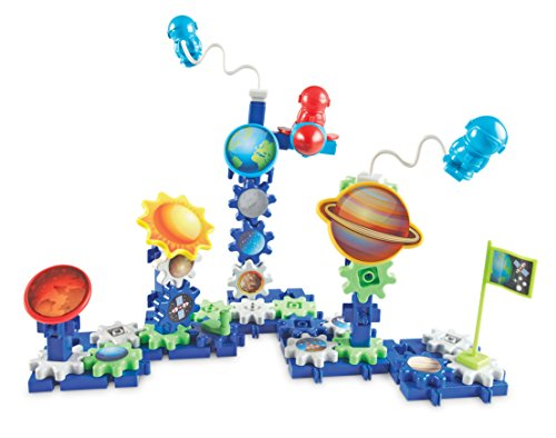 Learning Resources Gears! Gears! Gears! Space Explorers Building Set, 77 Pieces