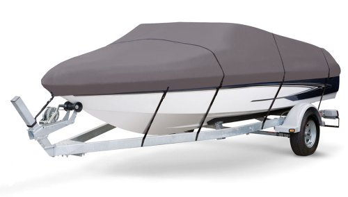 Pyle, PCVSPB331Armor Shield Trailer Master Boat Cover 20'-22'L Beam Width to 106'' V-Hull Runabouts Outboards & I/O