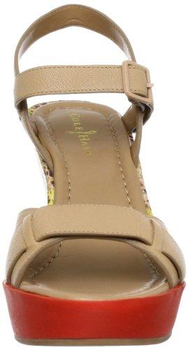 Cole Haan Donna Sandalo Con Zeppa Alta Pallido / Sandalo Limone Con Stampa Serpente Di Ghiaccio 10 B - Medio