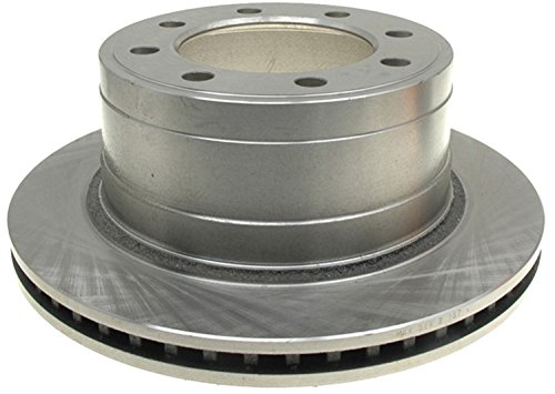 ACDelco 18A1592A Advantage Non-Coated Rear Disc Brake Rotor