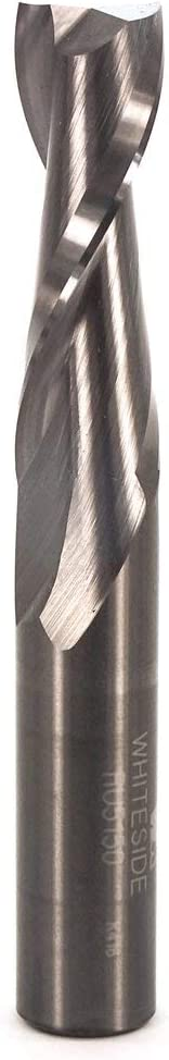 Whiteside Router Bits RU5150 Standard Spiral Bit with Up Cut Solid Carbide 1/2-Inch Cutting Diameter and 1-1/2-Inch Cutting Length