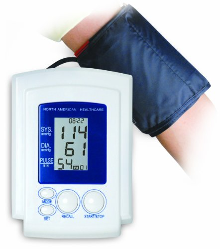 North American Healthcare JB5252 Arm Cuff Blood Pressure Mon