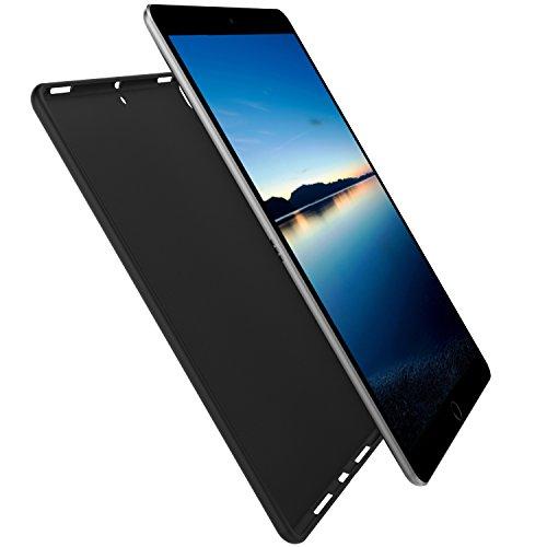 "iPad Air (3rd Gen) 10.5"" 2019 / iPad Pro 10.5"" 2017 Case,,SENON Slim Design Matte TPU Rubber Soft Skin Silicone Protective Case Cover for Apple iPad Air (3rd Gen) 10.5"" 2019 Tablet,Black"