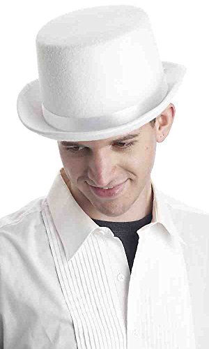 White Top Hat Costume (Super Deluxe White Top Hat)