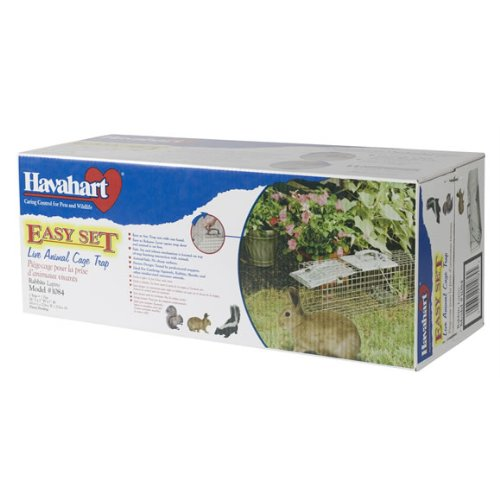 Havahart 1084 Easy Set One-Door Cage Trap for Rabbits, Skunks, Minks and Large Squirrels by Havahart (Image #4)