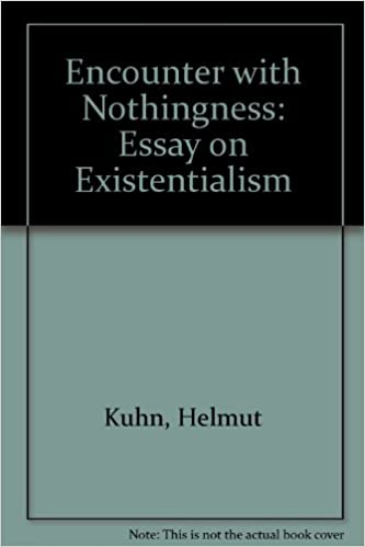 encounter nothingness an essay on existentialism helmut  encounter nothingness an essay on existentialism helmut kuhn 9780837179827 com books