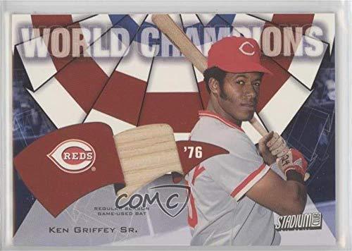 Ken Griffey (Baseball Card) 2002 Topps Stadium Club - World Champions Relics #WC-KG