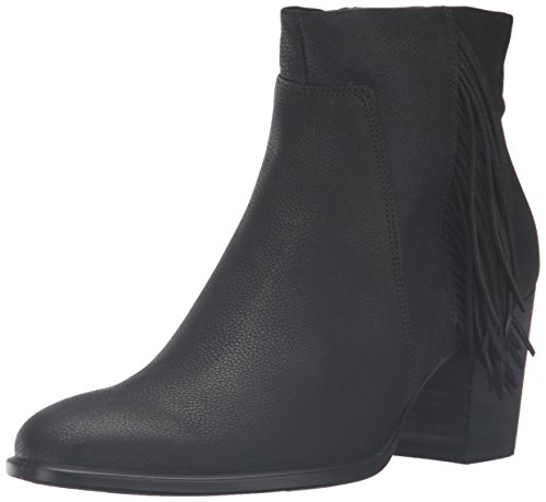 ECCO Women's Shape 55 Bootie Boot, Black Black Nubuck