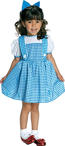 Toddler Tin Girl Costumes (11812 Toddler/Infant Dorothy Tiny Tykes)