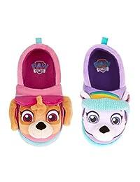 Nickelodeon Paw Patrol Toddler Girls Slippers Skye Everest