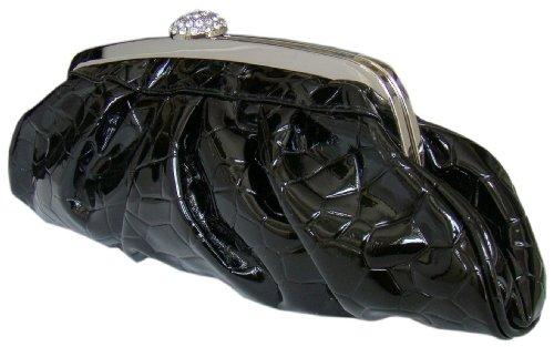 Estilo Completo, bolso, Clutch, 30x 10cm), color negro