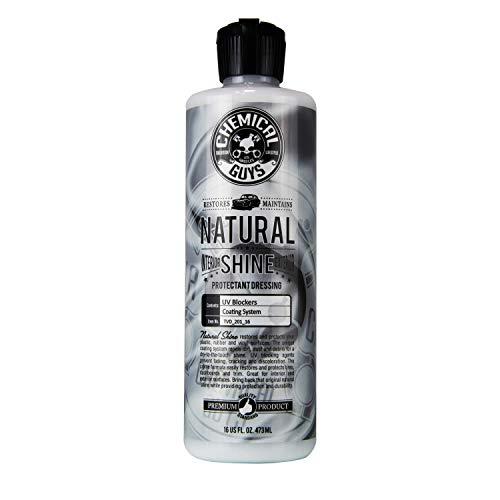 Chemical Guys TVD_201_16 - Natural Shine, Satin Shine Dressing for Plastic, Rubber and Vinyl (16 ()